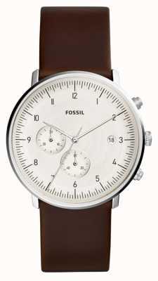 Fossil El | reloj chase para hombre cuero marrón | FS5488