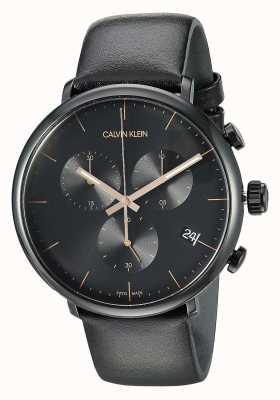 Calvin Klein Cronógrafo para caballero de mediodía K8M274CB