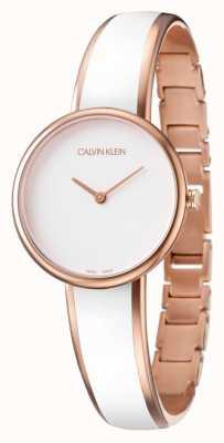 Calvin Klein Reloj de seducción K4E2N616