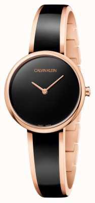 Calvin Klein Reloj de seducción K4E2N611