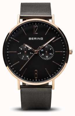 Bering Clásico | oro rosa pulido | 14240-163