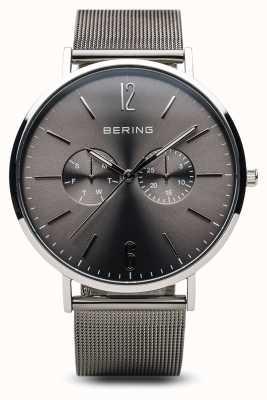 Bering Clásico | plata pulida | de los hombres 14240-308