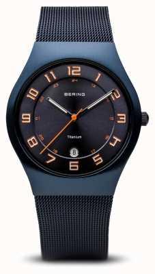 Bering Titanio | azul cepillado 11937-393