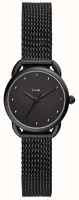 Fossil Señoras reloj sastre negro malla ES4489