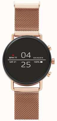 Skagen Falster 2 gen 4 reloj inteligente malla dorada rosa SKT5103
