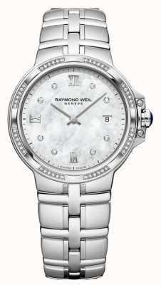 Raymond Weil Parsifal damas cuarzo clasico | 56 diamantes | madre perla 5180-STS-00995