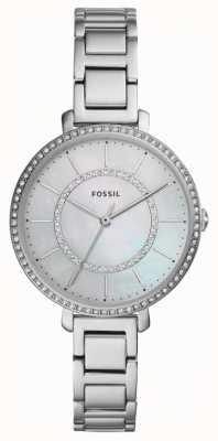 Fossil Mujer jocelyn | reloj de acero inoxidable plateado ES4451