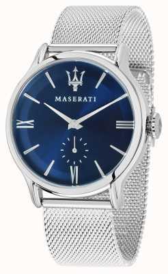Maserati Epoca para hombre 42mm | esfera azul | pulsera de malla de plata R8853118006