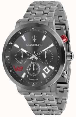 Maserati Mens gt 44mm | esfera gris | pulsera de acero inoxidable gris R8873134001