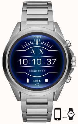 Armani Exchange Conectado | reloj inteligente | pulsera de acero inoxidable AXT2000