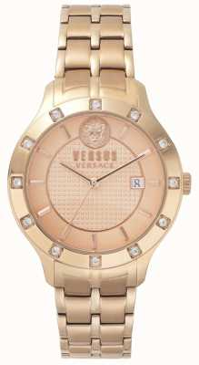 Versus Versace Brackenfell para mujer | dial rosegold | stee rosegold inoxidable VSP460418