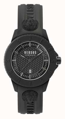 Versus Versace Tokio r | esfera negra | correa de silicona negra VSP0Y2318