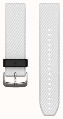 Garmin Correa de caucho blanco quickfit 22mm fenix 5 / instinto 010-12500-01