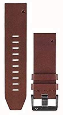 Garmin Correa de piel marron quickfit 22mm fenix 5 / instinto 010-12496-05