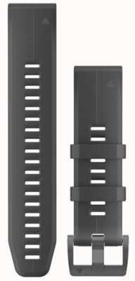 Garmin Correa de caucho negro quickfit 22mm fenix 5 / instinto 010-12740-00