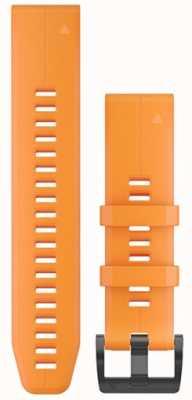 Garmin Correa de caucho naranja quickfit 22mm fenix 5 / instinto 010-12740-04