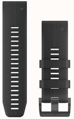 Garmin Correa de caucho negro quickfit 26mm fenix 5x / tactix charlie 010-12741-00
