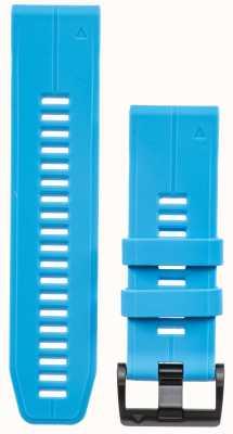Garmin Correa de caucho azul quickfit 26mm fenix 5x / tactix charlie 010-12741-02