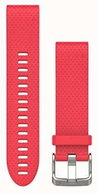Garmin Correa de caucho rosa azalea quickfit 20mm fenix 5s 010-12491-14