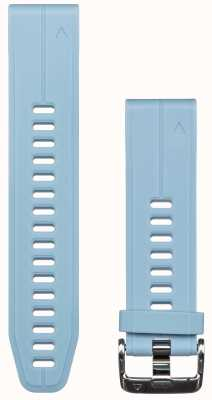 Garmin Correa de caucho azul quickfit 20mm fenix 5s 010-12739-03