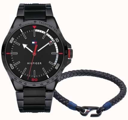 Tommy Hilfiger Set de regalo reloj y pulsera hombre 2770029
