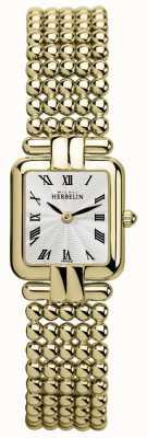 Michel Herbelin Damas | oro clásico | reloj perles 17473/BP08