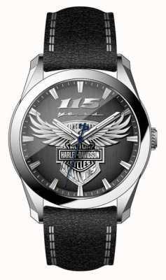 Harley Davidson Reloj de edición limitada para hombre con 115 años de duración. 76A160