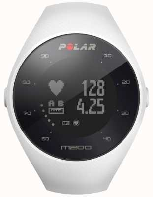 Polar Unisex blanco m200 gps muñeca hr m / l 90067741