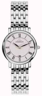 Michel Herbelin | mujeres | épsilon | esfera blanca | pulsera de acero inoxidable | 16945/B01