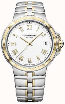 Raymond Weil Parsifal bicolor | oro y acero inoxidable | reloj para hombre 5580-STP-00308
