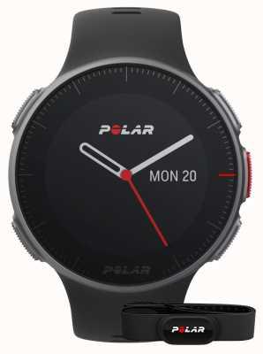 Polar Vantage v (con correa hr) entrenamiento gps multideportivo negro 90069634