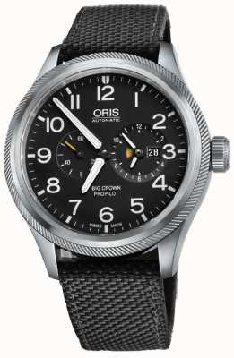 Oris Reloj de hombre Worldtimer Big Crown Propilot 01 690 7735 4164-07 5 22 15FC