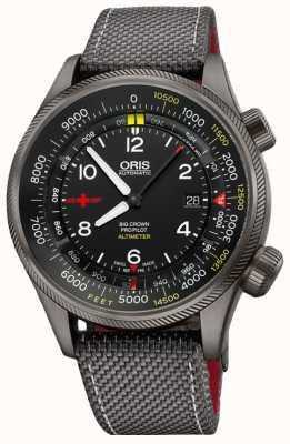 Oris Big Crown propilot altímetro con pies escala 47mm reloj para hombre 01 733 7705 4234-Set5 23 16GFC
