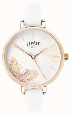 Limit | reloj de jardín secreto para mujer | esfera de mariposa blanca | 60013