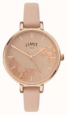 Limit | reloj de jardín secreto para mujer | esfera mariposa melocotón | 60014