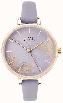 Limit | reloj de jardín secreto para mujer | esfera de mariposa púrpura | 60015
