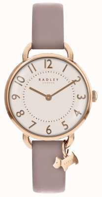 Radley Mujer | parque southwark | correa de cuero rosa RY2544