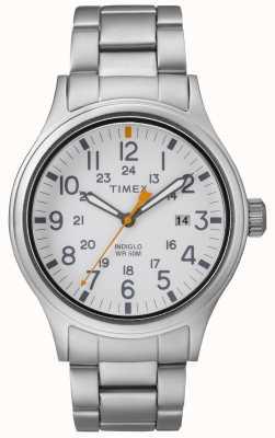 Timex | los hombres | aliados | acero inoxidable TW2R46700