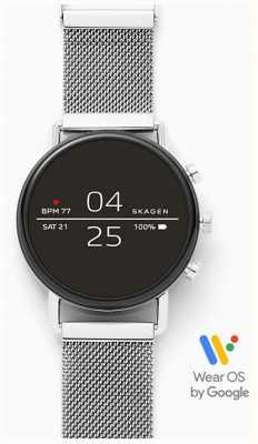 Skagen Malla de acero inoxidable conectada smartwatch. SKT5102