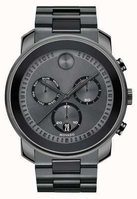 Movado | reloj de cronógrafo para hombre | gunmetal gris acero | 3600486