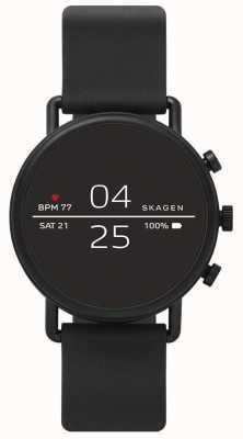 Skagen Smartwatch conectado de silicona negro. SKT5100