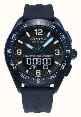 Alpina | mens alpinerx | reloj inteligente AL-283LBN5NAQ6