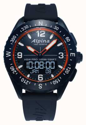 Alpina | mens alpinerx | reloj inteligente AL-283LNO5NAQ6