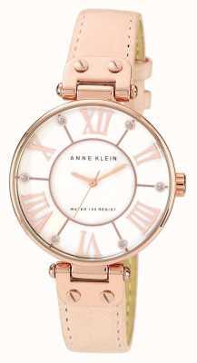 Anne Klein | reloj de mujer de la firma | cuero desnudo | 10-N9918RGLP