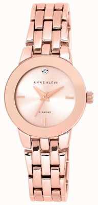 Anne Klein | reloj agnes para mujer | pulsera de oro rosa | AK-N1930RGRG