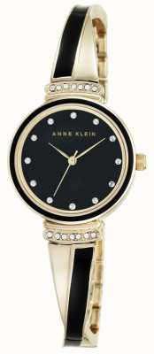 Anne Klein | clarissa mujer negro | reloj de pulsera | AK-N2216BKGB