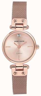 Anne Klein | reloj de cable para mujer | tono oro rosa | AK-N3002RGRG