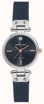 Anne Klein | reloj de cable para mujer | tono azul marino | AK-N3003BLRT
