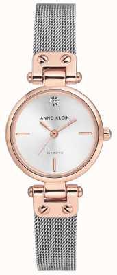 Anne Klein | reloj de cable para mujer | tono plateado | AK/N3003SVRT