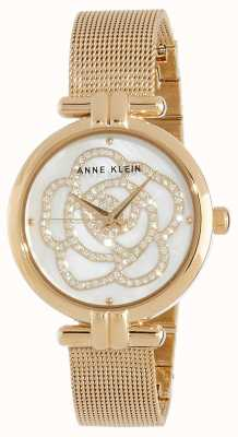 Anne Klein | reloj de flores para mujer | tono dorado | AK/N3102MPGB